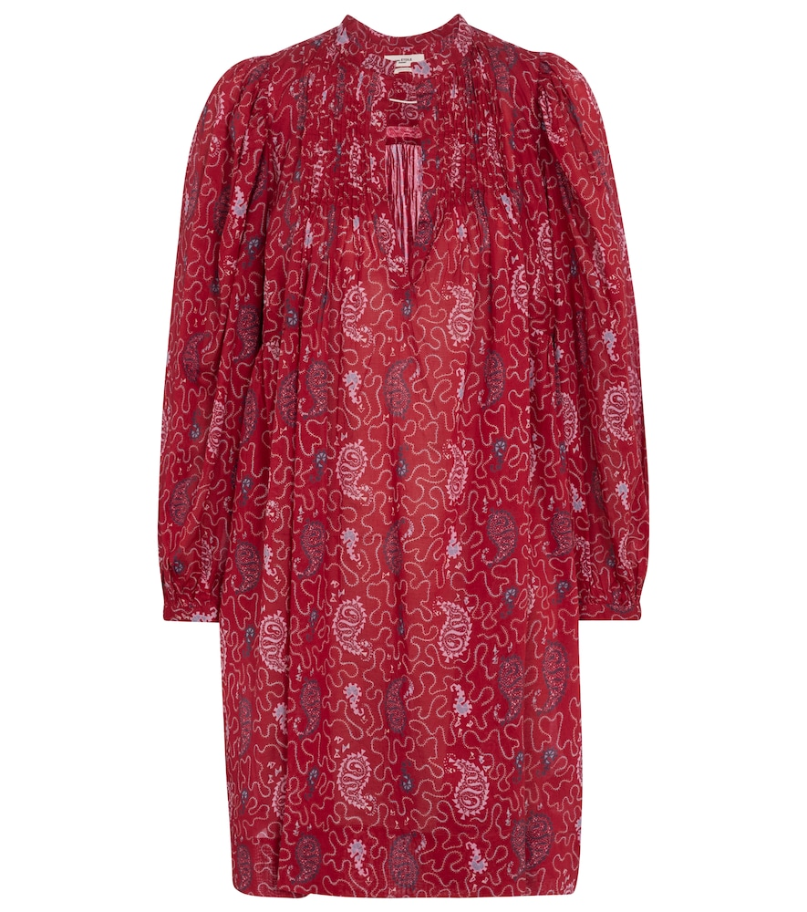 Virginie printed cotton voile minidress by Isabel Marant, ?oile