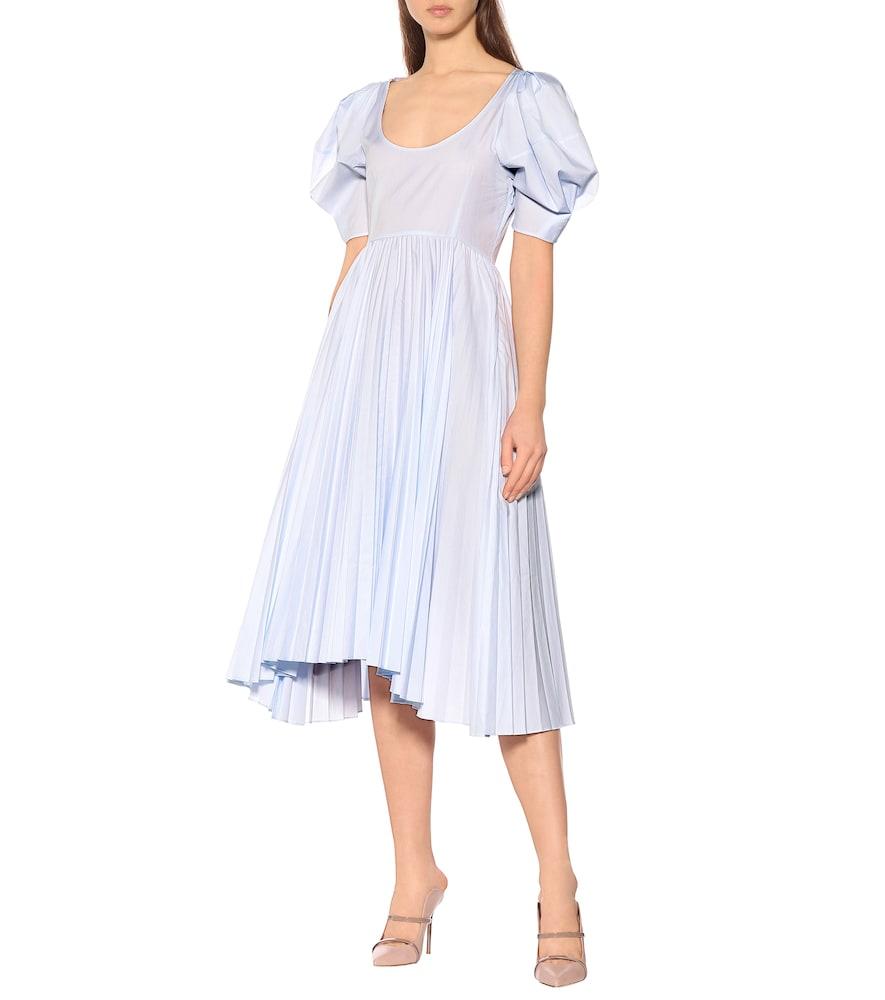 Caitlin cotton poplin dress by Khaite