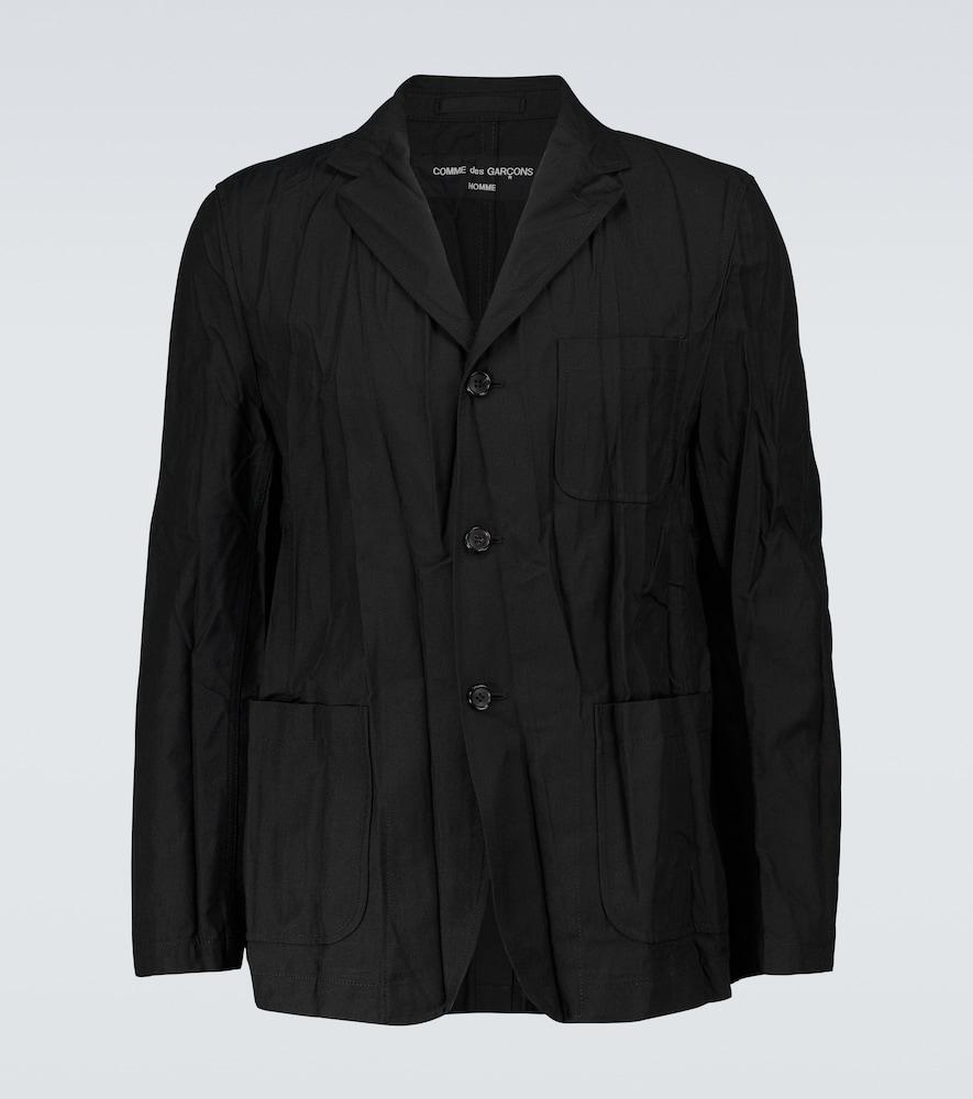 Twill technical blazer