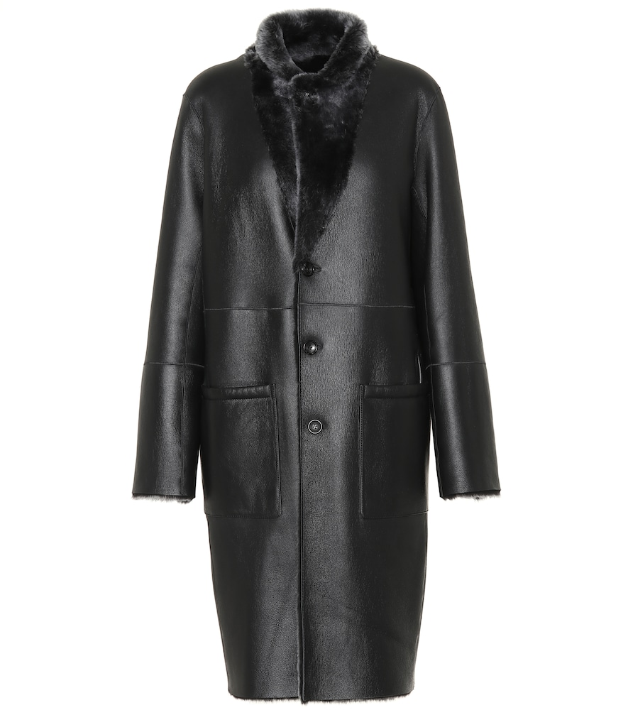 BRITTANY REVERSIBLE LEATHER COAT