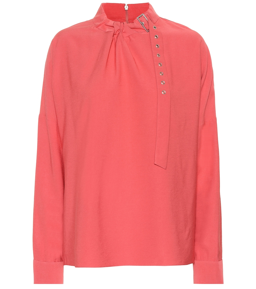 Embellished Blouse in Pink