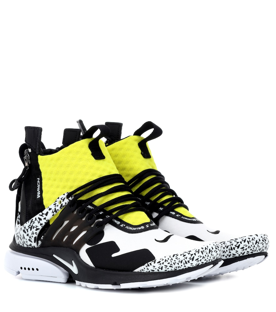 Air Presto Mid Acronym Sneakers in White