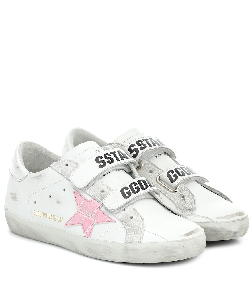 Exclusive to Mytheresa - Old School leather sneakers