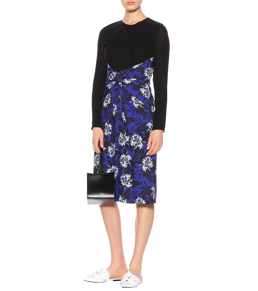 Floral-printed jersey dress by Proenza Schouler
