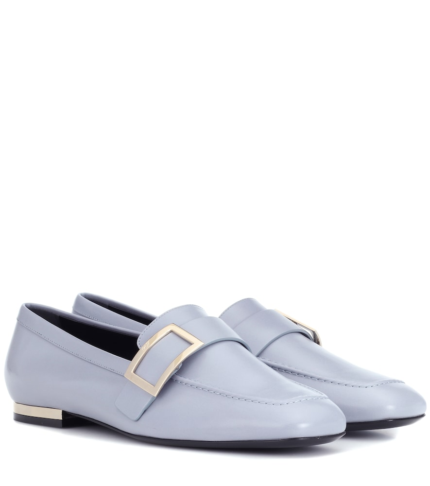ROGER VIVIER LEATHER LOAFERS