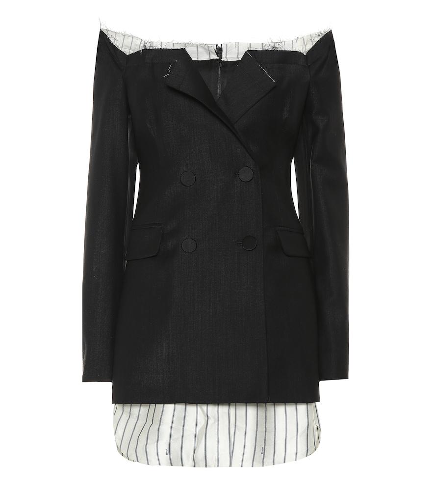 Robe Ciara en laine stretch