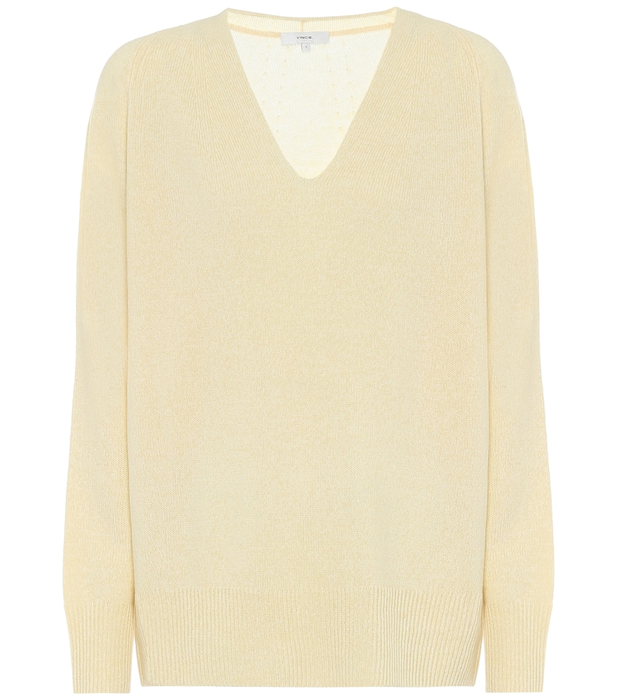 Vince Cashmeres WOOL AND CASHMERE SWEATER
