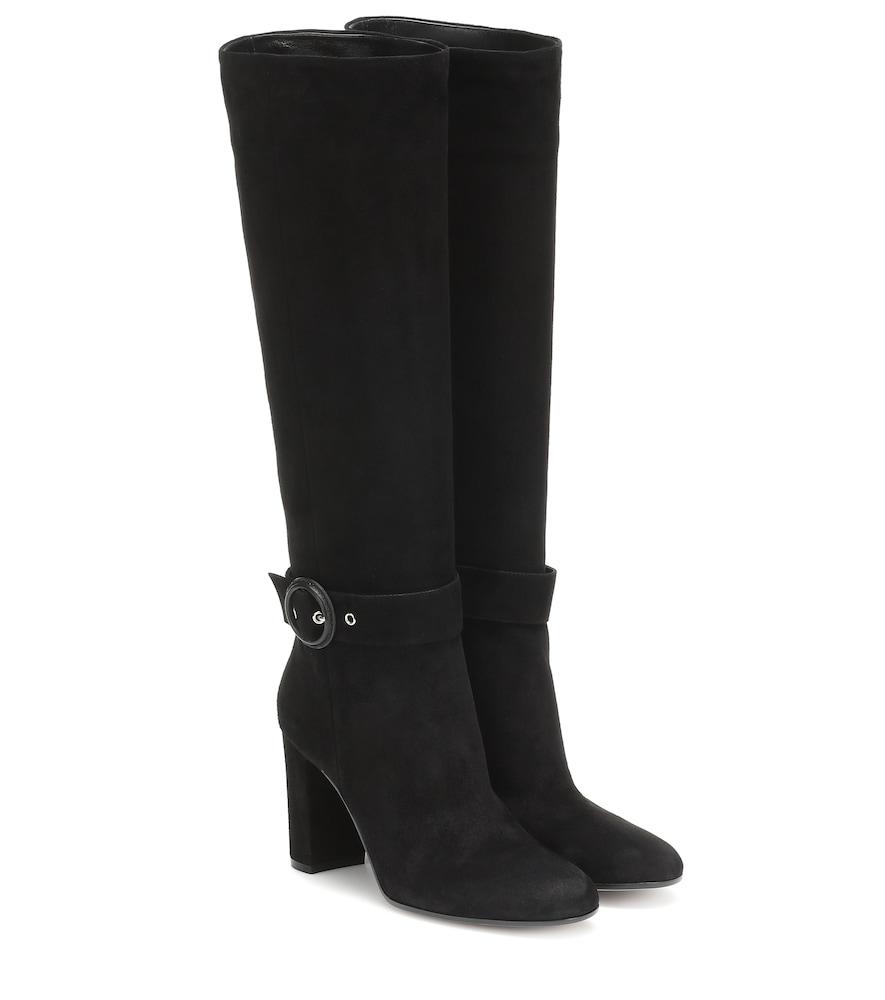 GIANVITO ROSSI | Suede Boots | Goxip