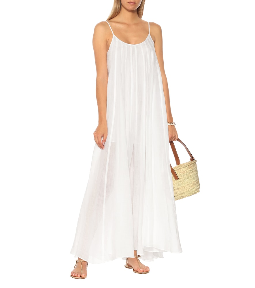 Exclusive to Mytheresa - Mabelle ramie maxi dress by Three Graces London