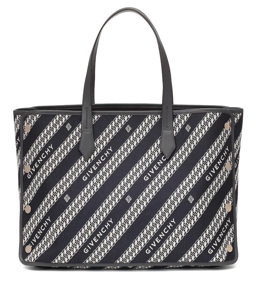 Cabas Bond Medium en toile et cuir - Givenchy - Modalova