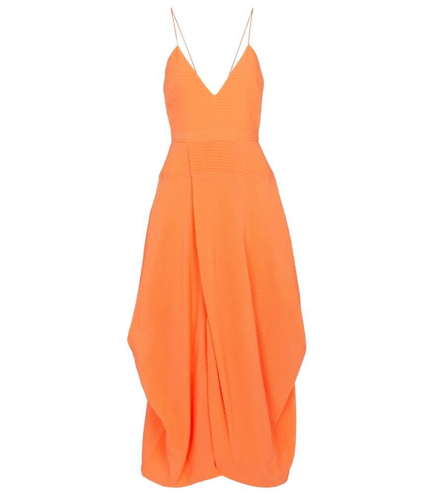 Jenna silk midi dress by Stella McCartney