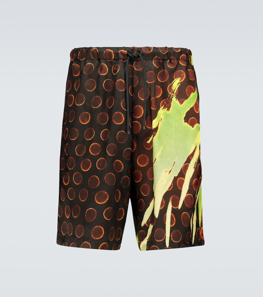 Dries Van Noten Cottons PATTERNED SHORTS