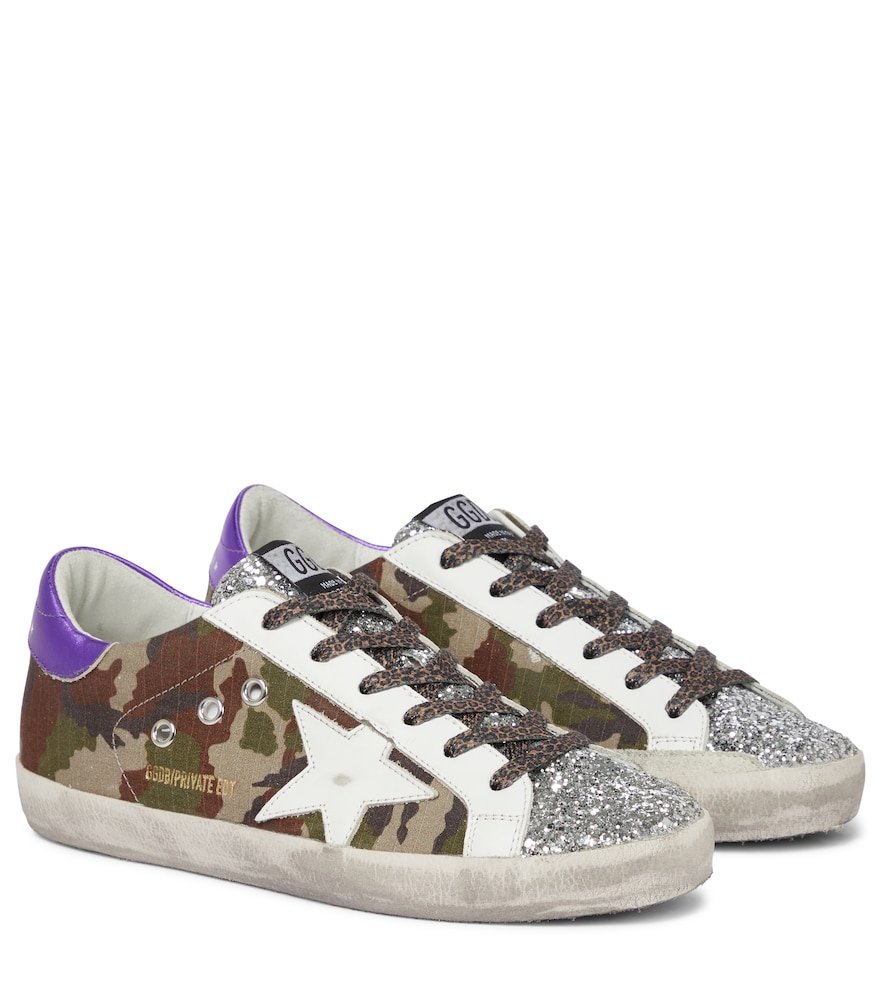Exclusive to Mytheresa - Superstar camouflage sneakers