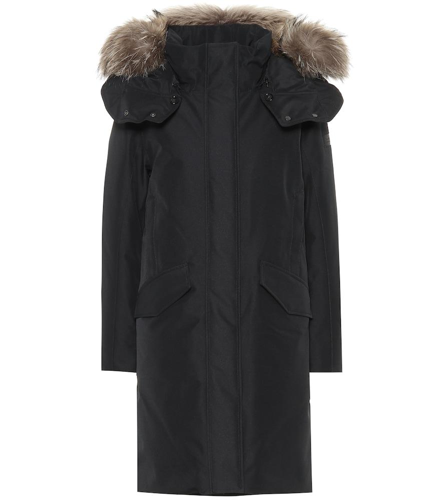 Adirondack Fur-Trimmed Down Coat, Female