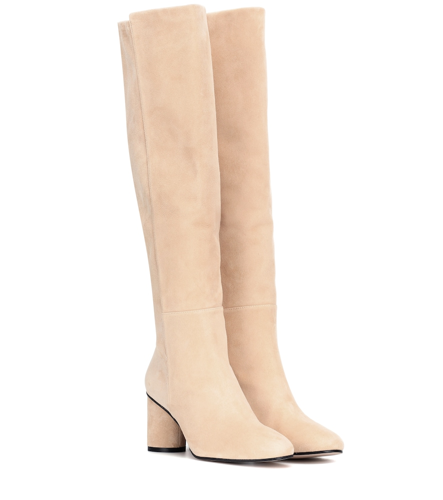 Eloise 75 Suede Boots in Brown