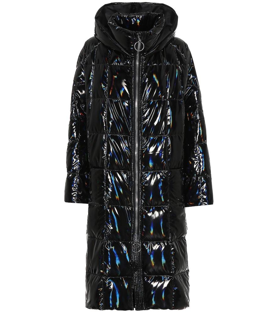 Manteau doudoune Pyramide à capuche