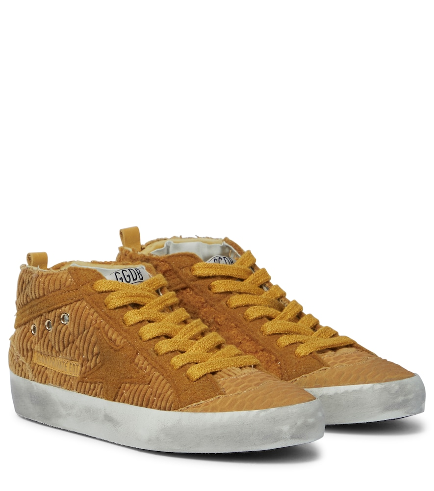 Exclusive to Mytheresa - Mid Star corduroy high-top sneakers