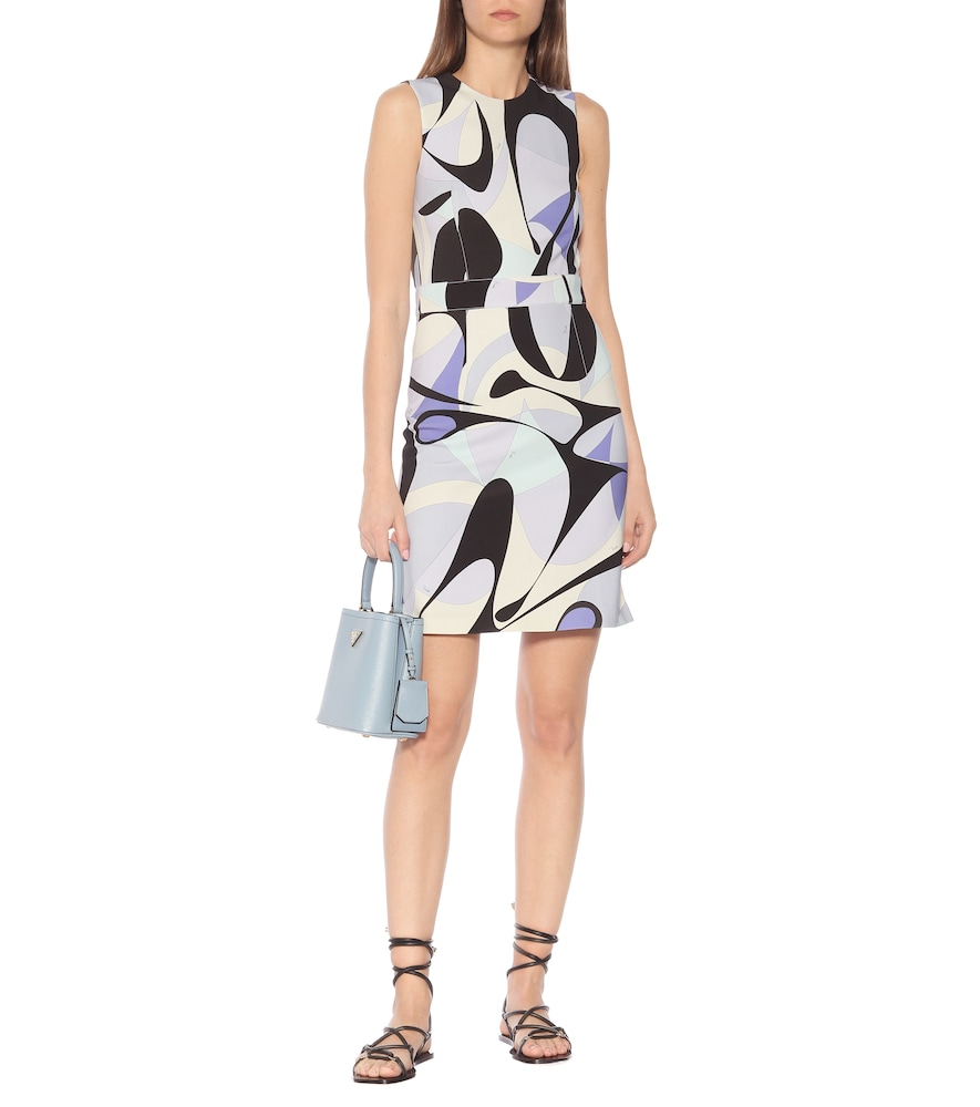 Printed shift dress by Emilio Pucci
