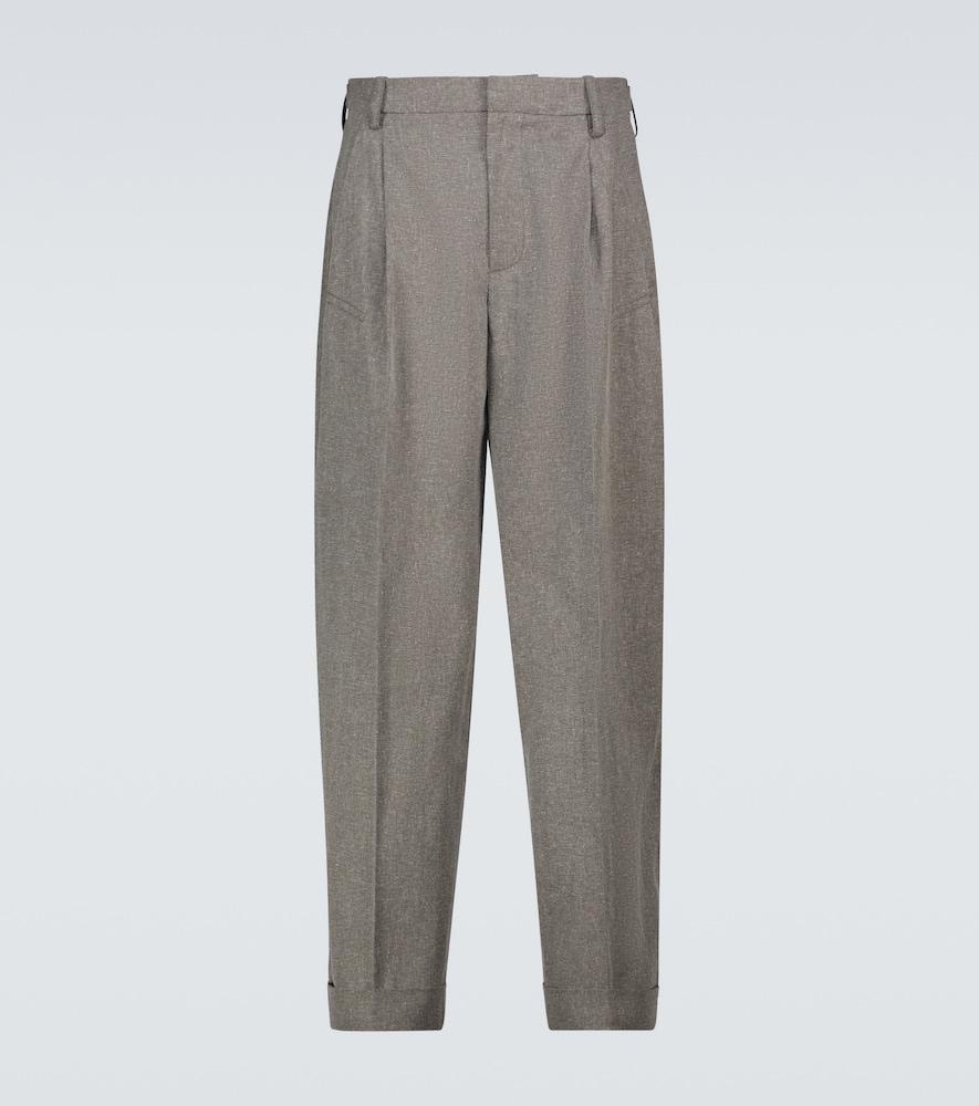 Jacquemus Le Pantalon Novi Pants In Grey