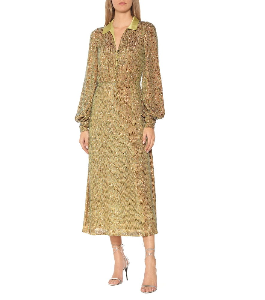 Constellation sequined dress by Temperley London