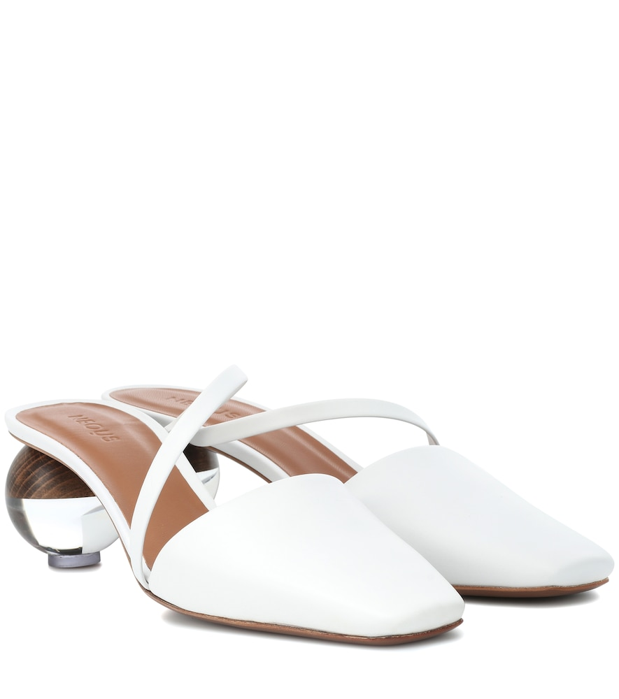 NEOUS LODA LEATHER MULES