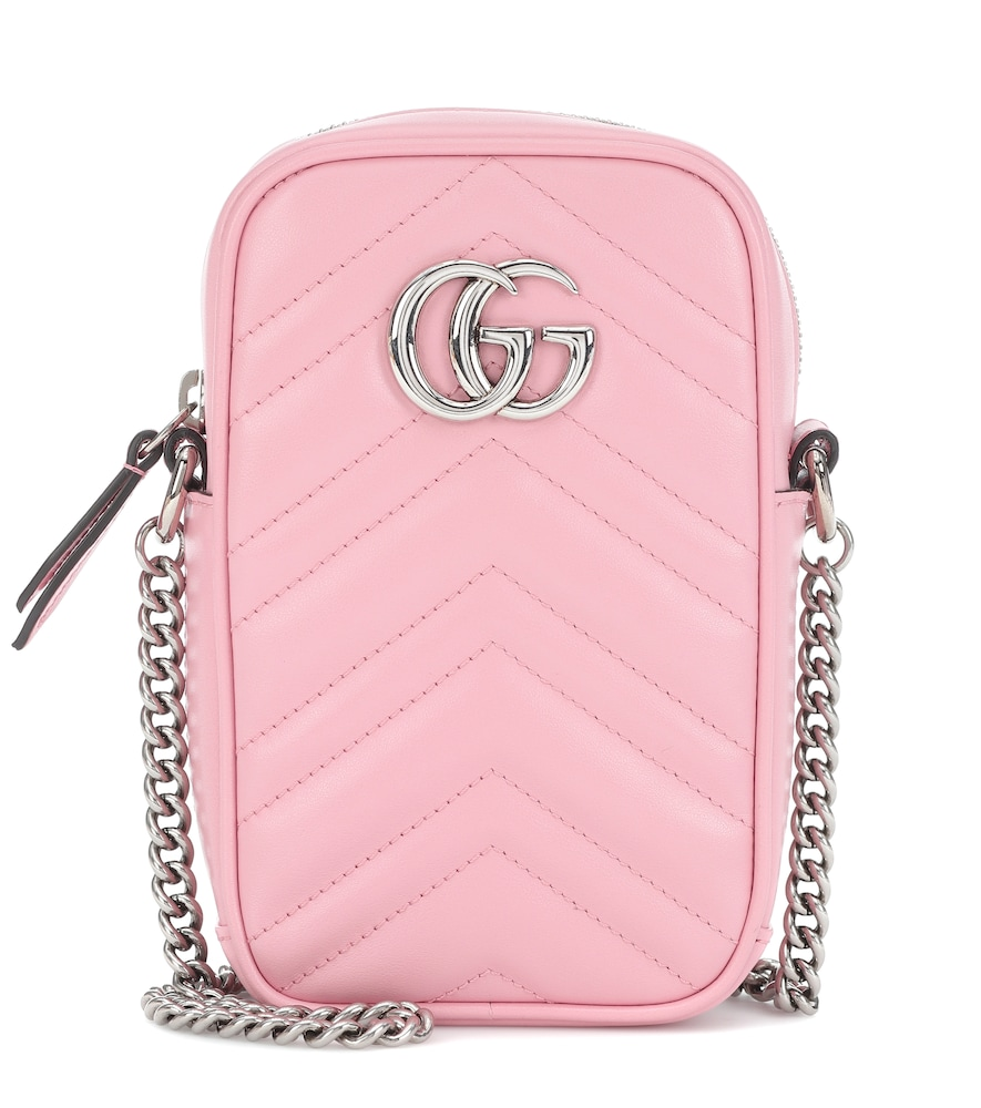 GG Marmont Mini phone pouch bag
