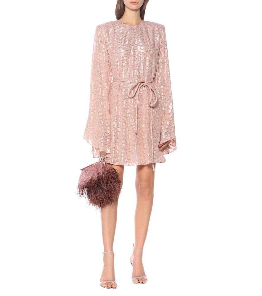 Silk-blend fil coup?minidress by Stella McCartney