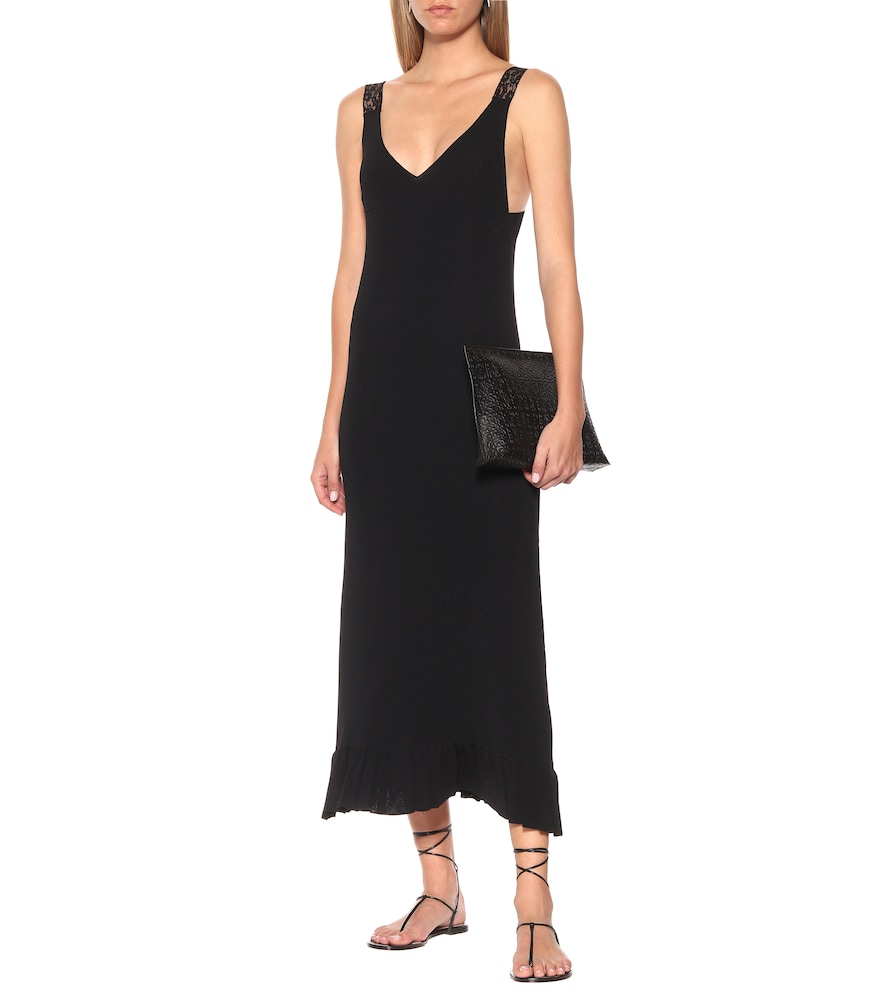 Knitted maxi dress by Ryan Roche