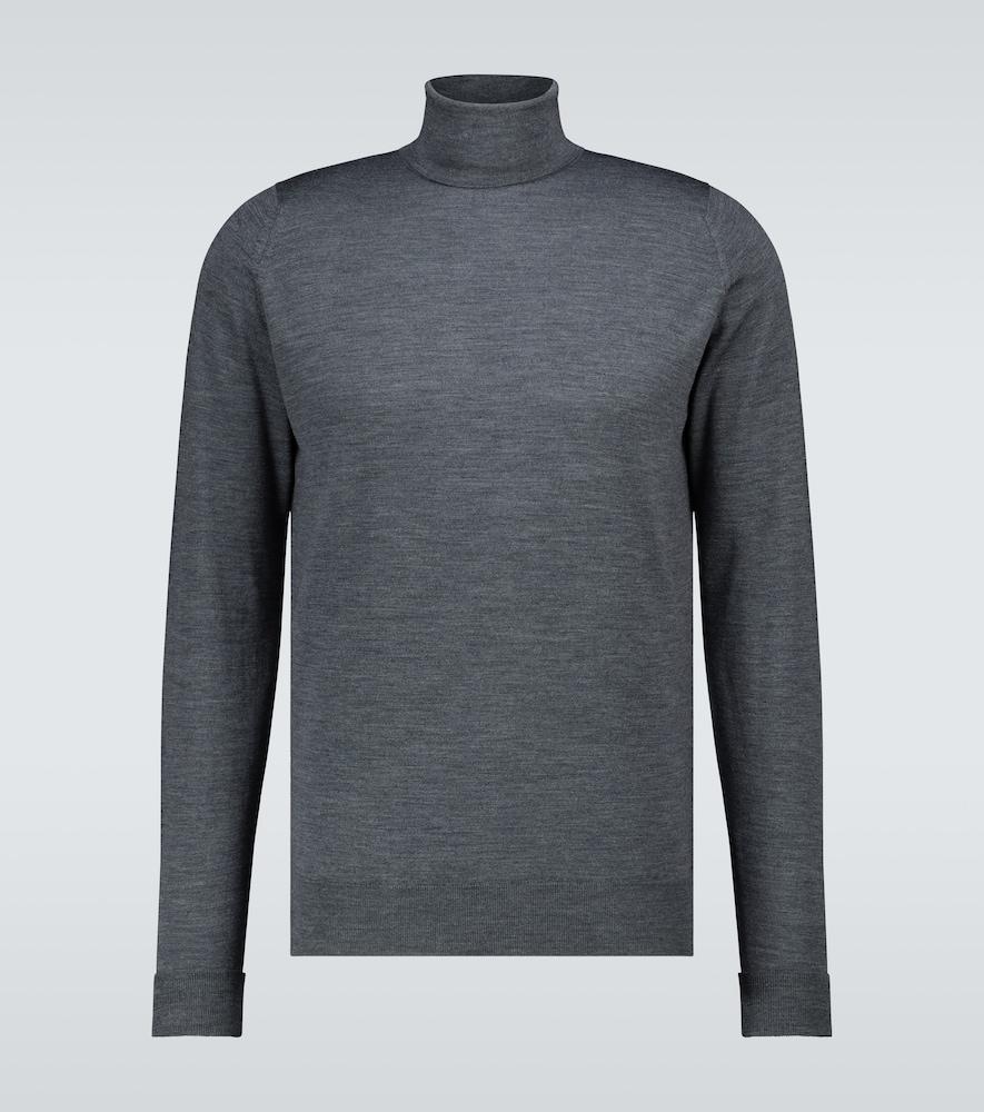 Richards wool turtleneck sweater