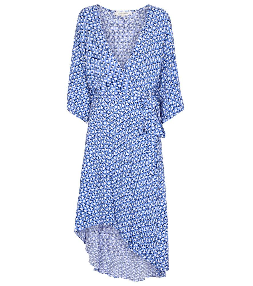 Diane Von Furstenberg Midi dresses ELOISE PRINTED CRÊPE MIDI DRESS