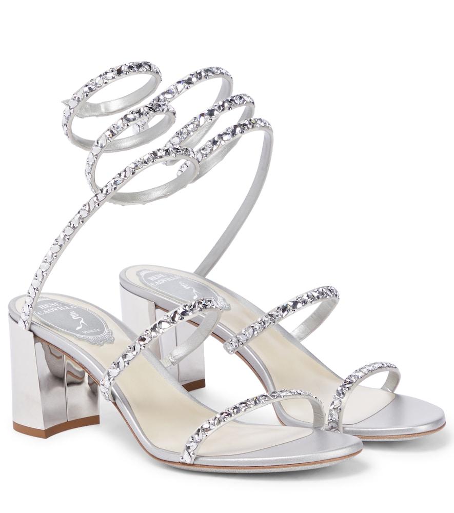 Cleo embellished leather sandals