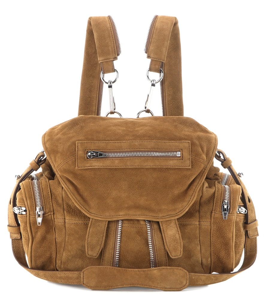 Marti Suede Backpack