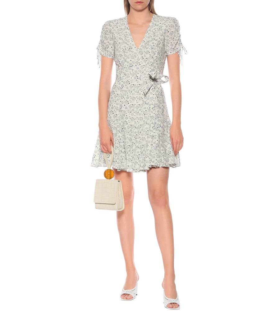 Exclusive to Mytheresa - Floral crêpe wrap dress by Polo Ralph Lauren