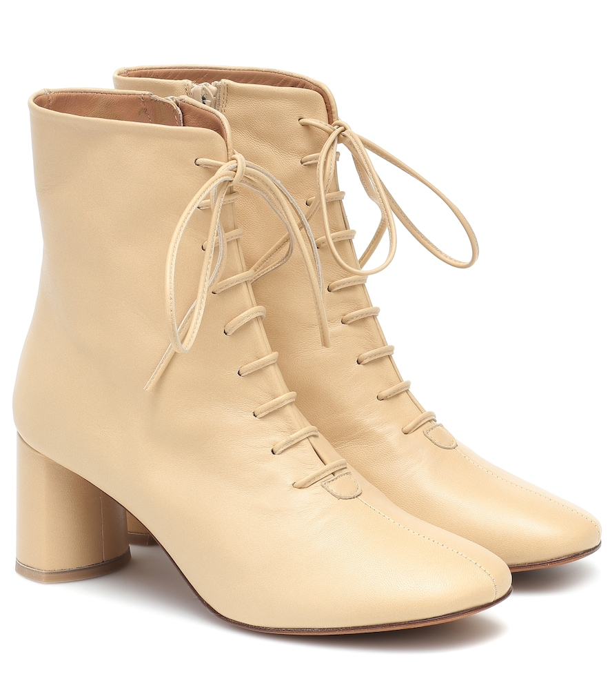 Agata leather ankle boots