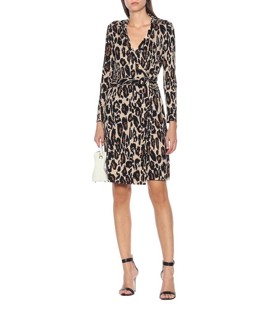 Jeanne Two leopard-print silk dress by Diane von Furstenberg