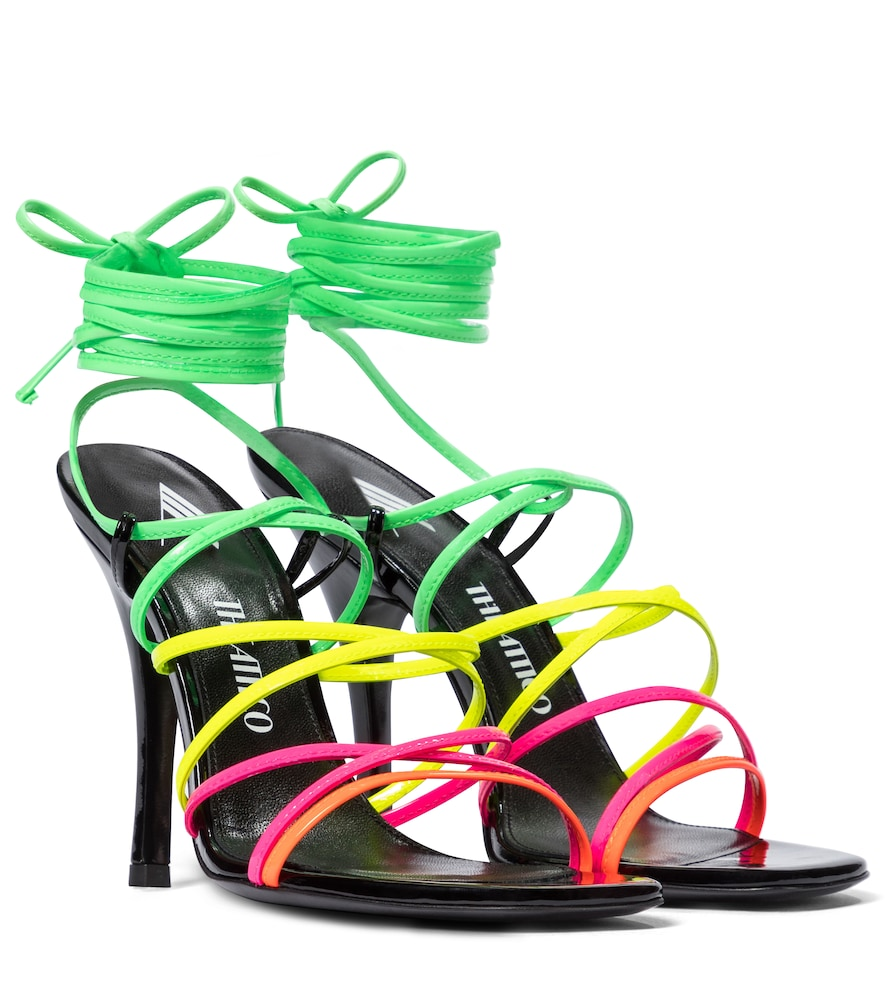 Fiona patent leather sandals