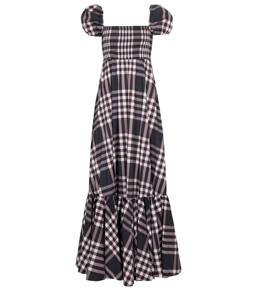 Gianna cotton-blend poplin maxi dress