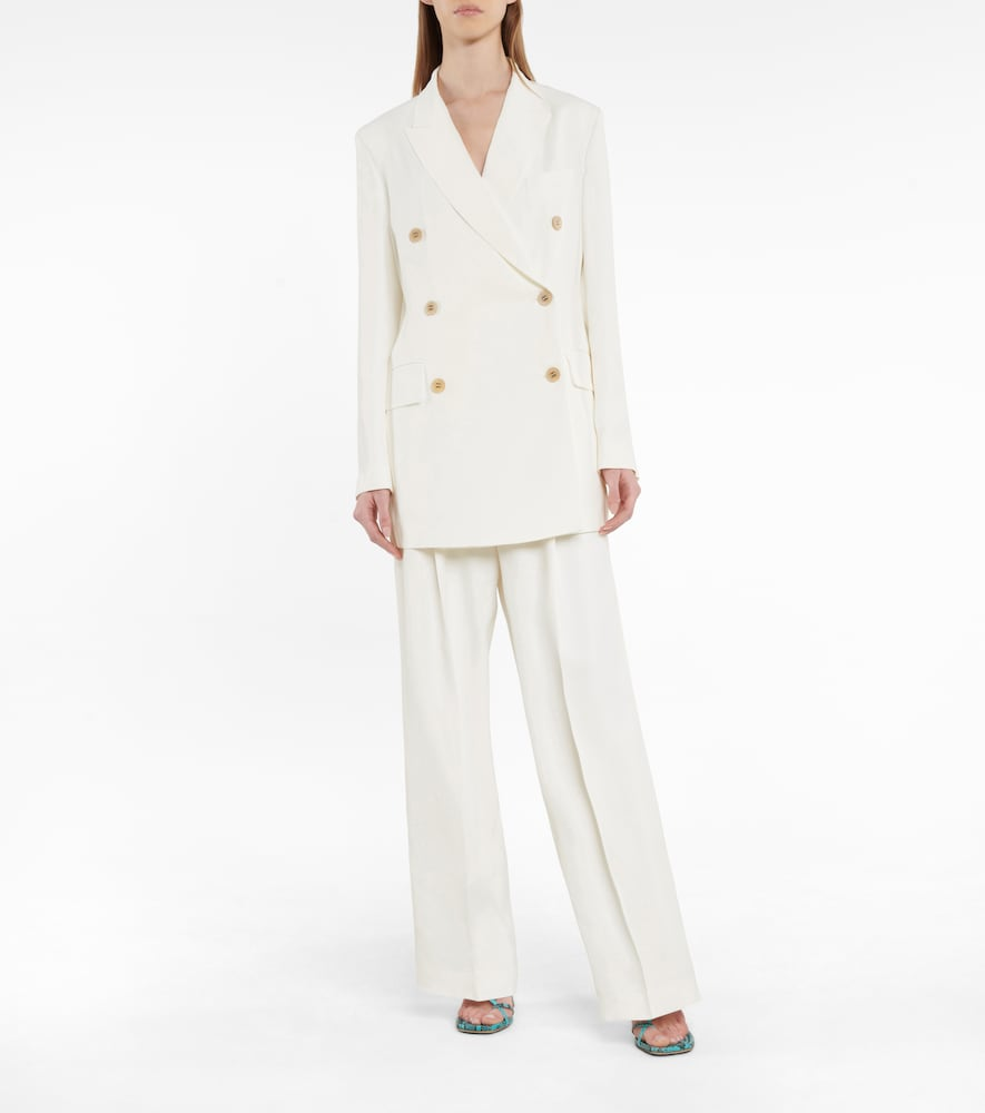 GOLDEN GOOSE Linings CLIZIA BELTED BLAZER