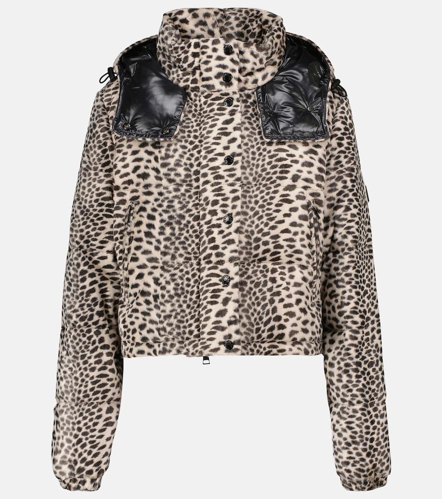 Avoine printed cropped down jacket