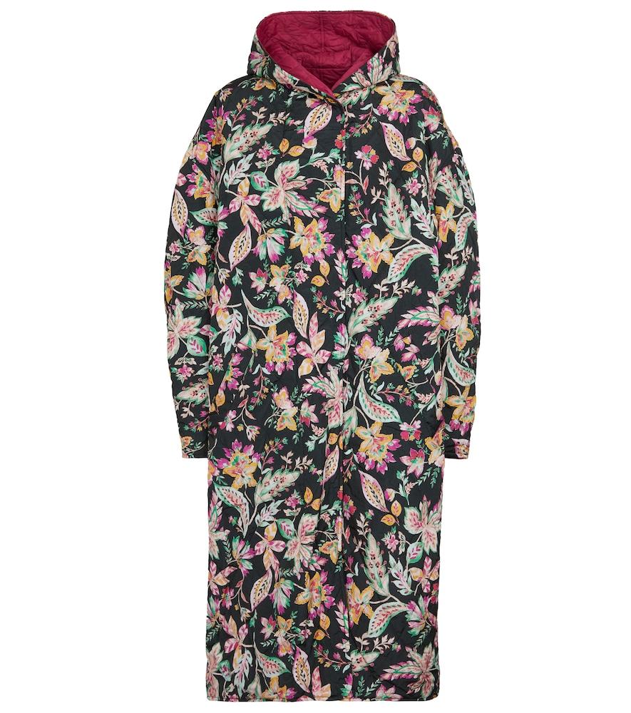 Manteau Dean réversible à capuche