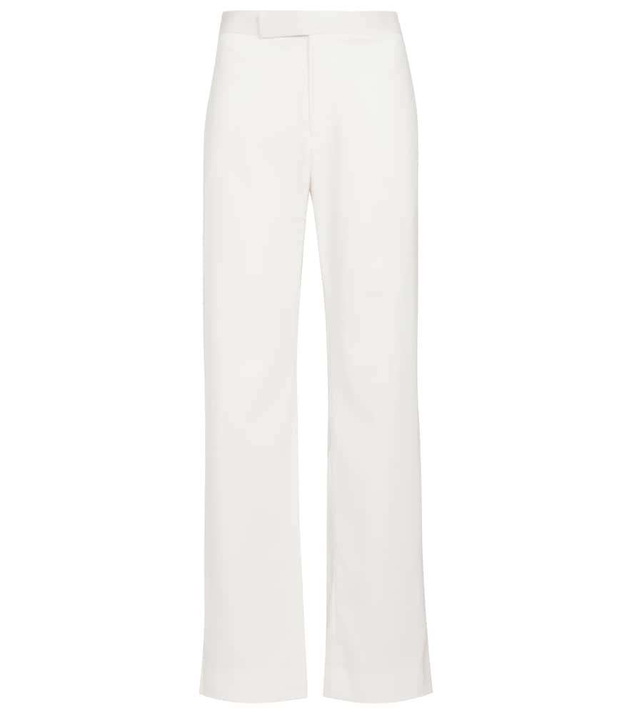 Cleo high-rise straight pants