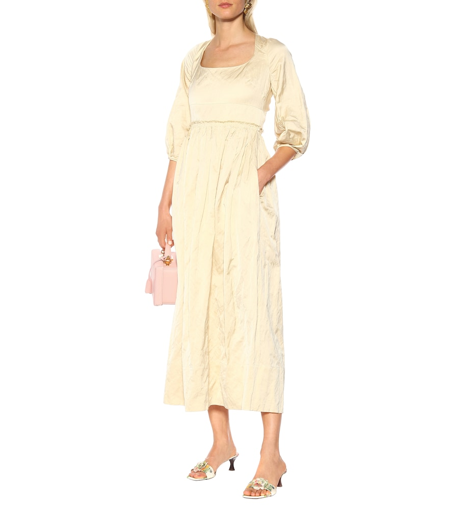 Exclusive to Mytheresa - Ondina satin midi dress by Brock Collection