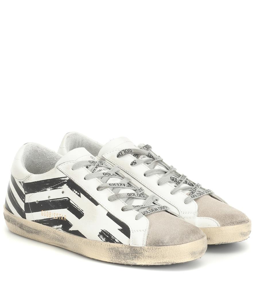 GOLDEN GOOSE DELUXE BRAND   Superstar Leather Sneakers   Goxip