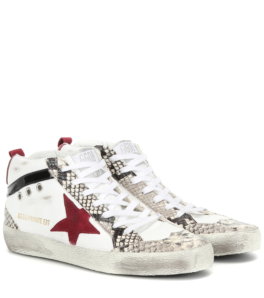 Exclusive to Mytheresa - Mid Star leather sneakers