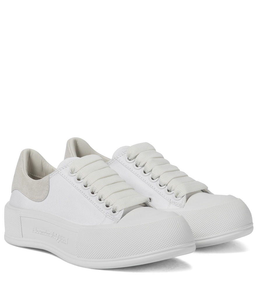 Deck Plimsoll canvas sneakers