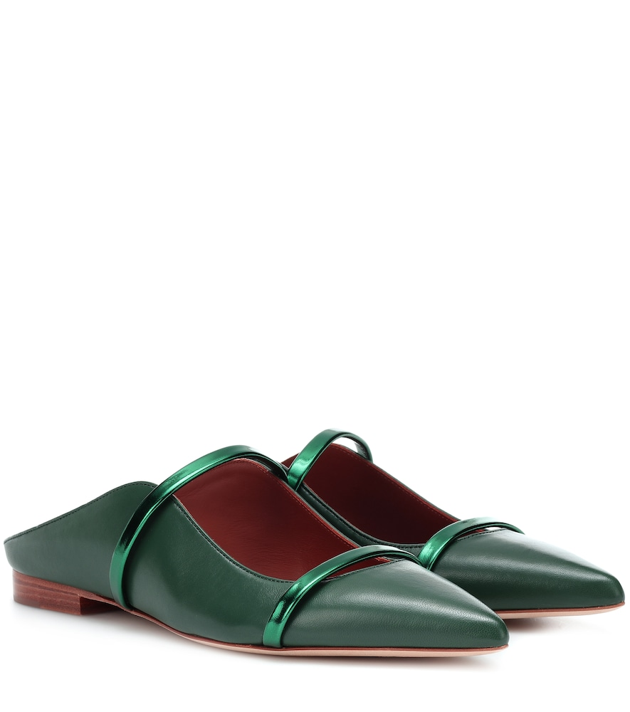 MAUREEN LEATHER SLIPPERS