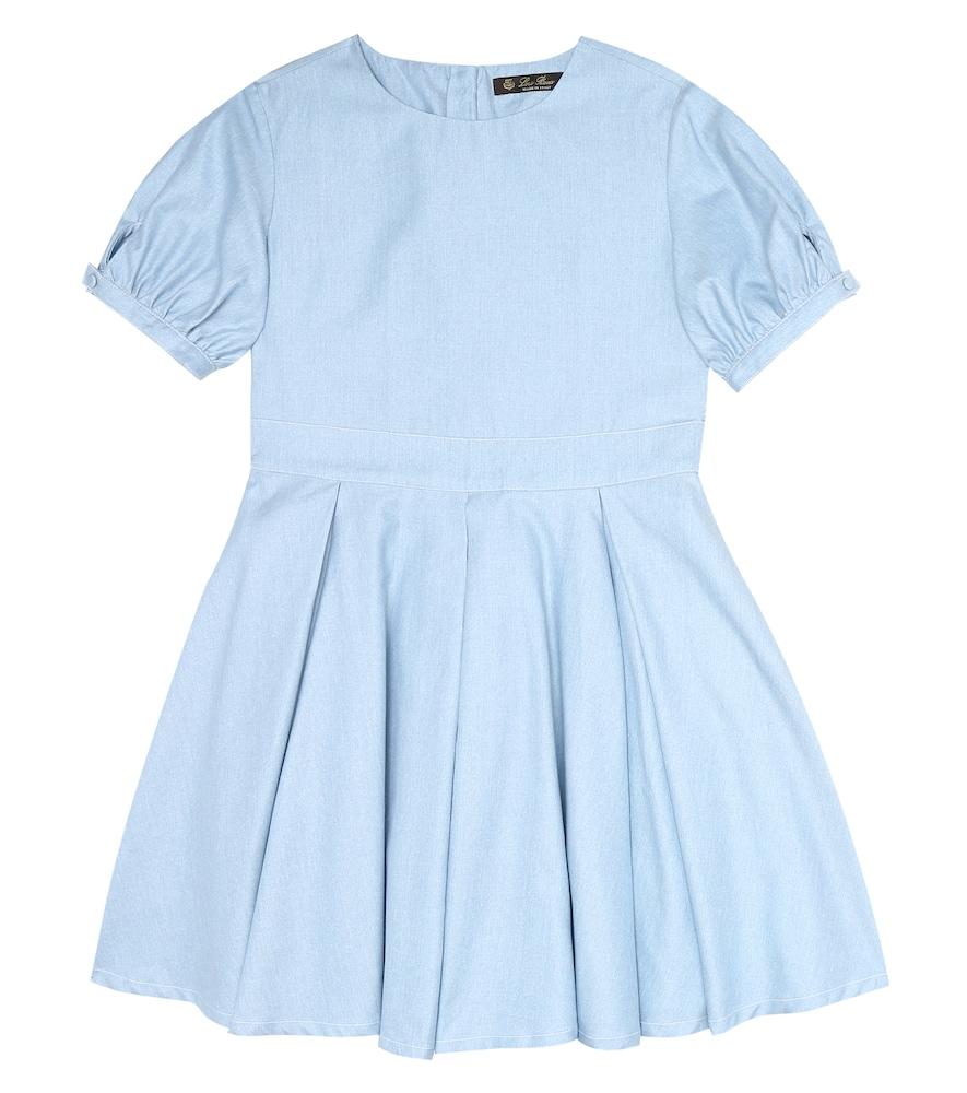 Janette cotton chambray dress