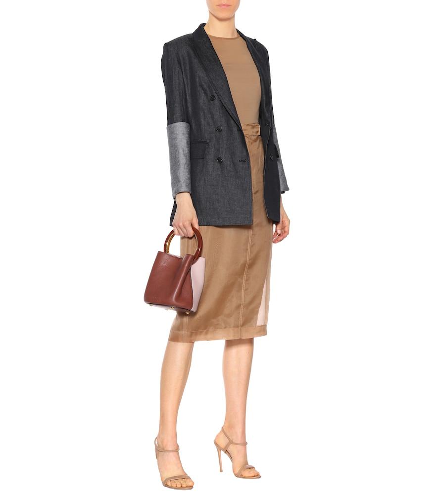 Mentino linen blazer by Max Mara