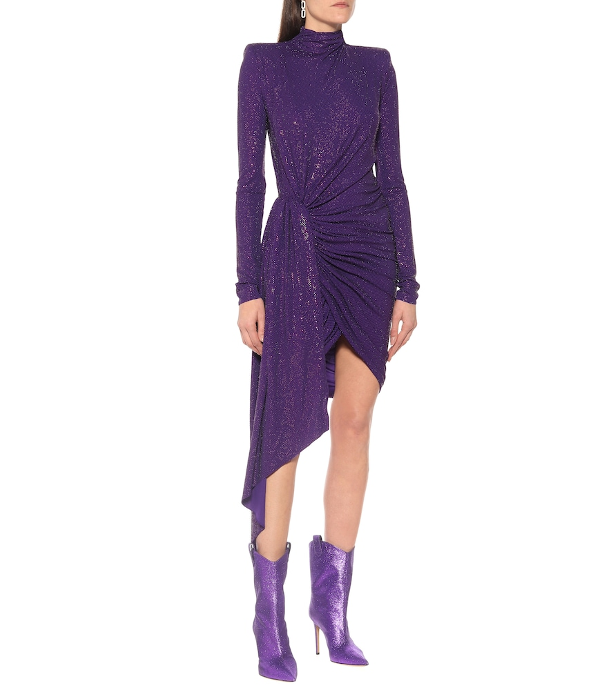 Exclusive to Mytheresa – Embellished stretch-crêpe dress by Alexandre Vauthier
