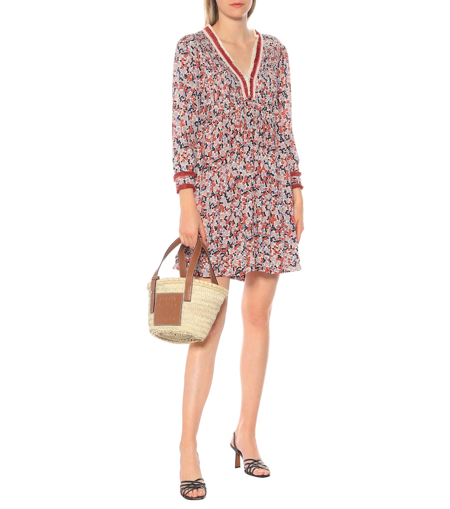 Exclusive to Mytheresa - Ola floral minidress by Poupette St Barth